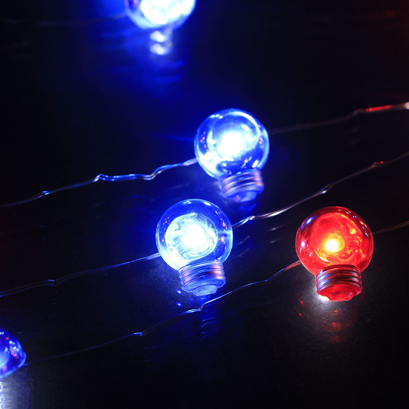 Steel Strip Solar Led String Lights -