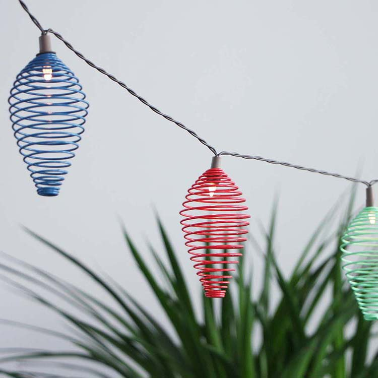 Aluzinc Coil Natural Rattan Lights -