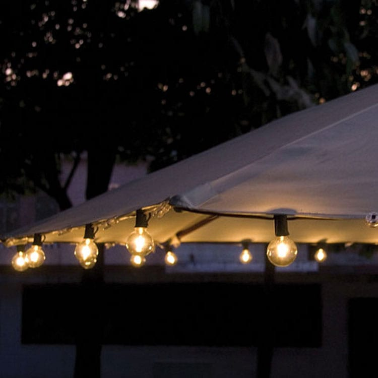 Galvalume Roof Sheet Outdoor Decorative Led String Lights -