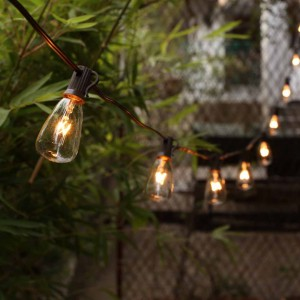 Patio String Lights Outdoor Edison Bulb Hanging Decor