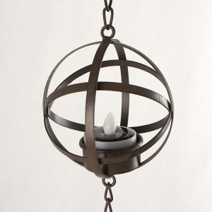 Hanging LED Tea Light Holder -KF05017