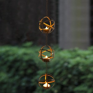 Flameless Candles&Hanging LED Tea Light Holder KF05017