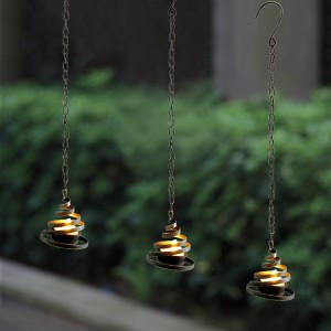 Solar LED Tea Light with Metal Springy Holder