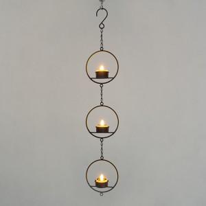 Hanging LED Tea Light Holder -KF05032-SO