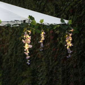 Wisteria Lights Patio Umbrella Hanging Decoration