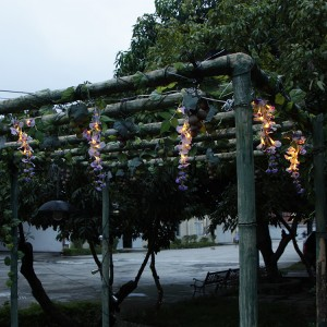 Wisteria Lights Patio Umbrella Hanging Decoration