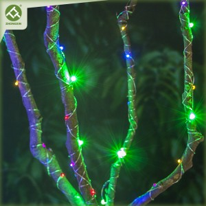 Copper Wire String Light Battery Operated Outdoor Lighting Decoration