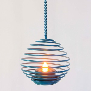 Hanging LED Tea Light Holder&Solar Tea Candle Lights KF13011