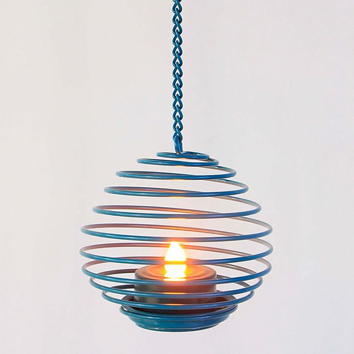 Hanging LED Tea Light Holder -KF13011 Featured Image