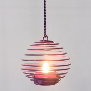 Hanging LED Tea Light Holder -KF13011