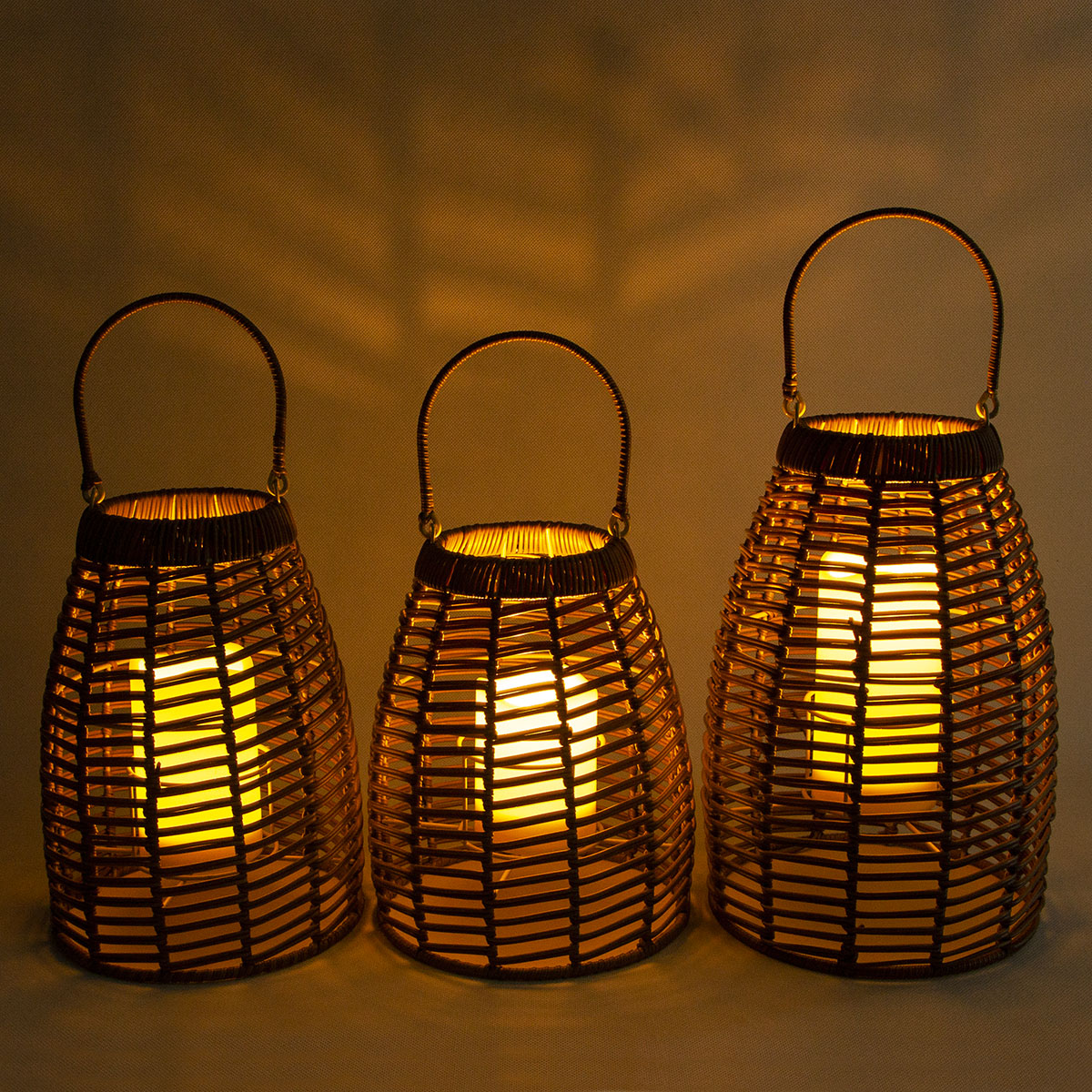 Hanging Solar Rattan Lantern Table Decor for Outdoors Featured Image