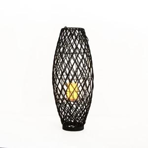 Solar Decorative Rattan Lantern Outdoor Decor for Garden
