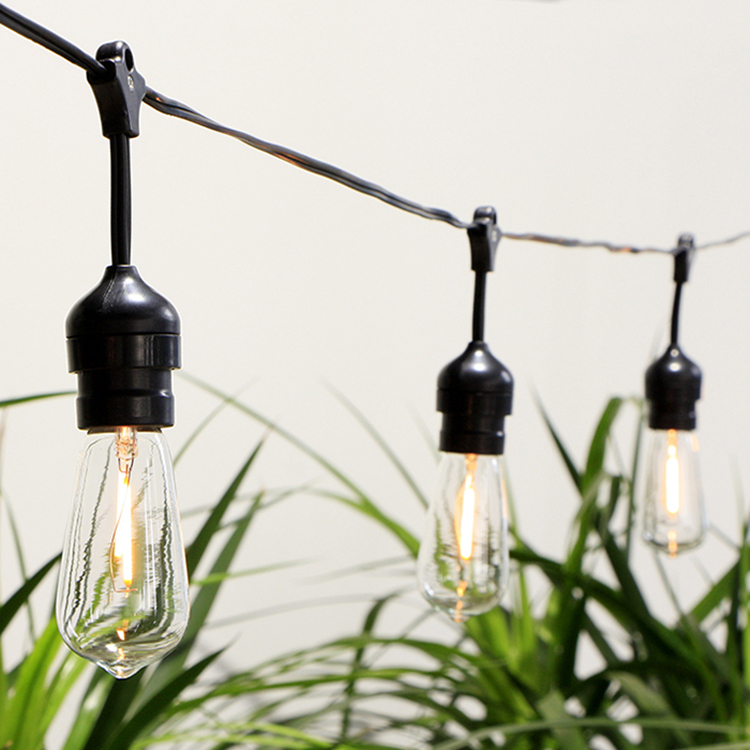 Solar Powered Vintage Lights String Outdoor Lighting Decor Featured Image