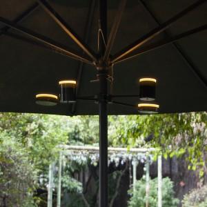 Patio Umbrella Lighted LED Bulb Lights