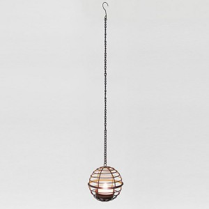 Hanging LED Tea Light Holder -KF67035