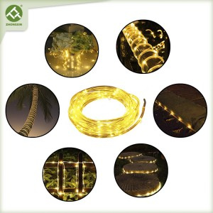 80 LED Solar Outdoor Rope Lights Waterproof