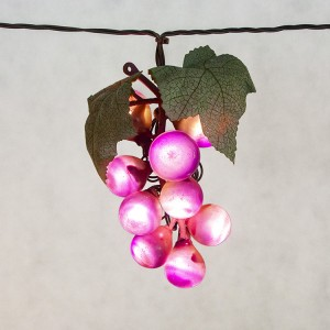 Grape Cluster Lights String Battery Operated for Patio KF84003