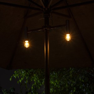 Patio Umbrella with LED Lights Outdoor Decoration