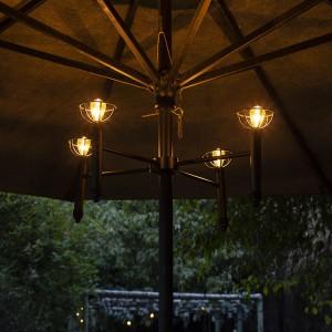 Solar Umbrella LED Lights Outdoor Lighting Decoration