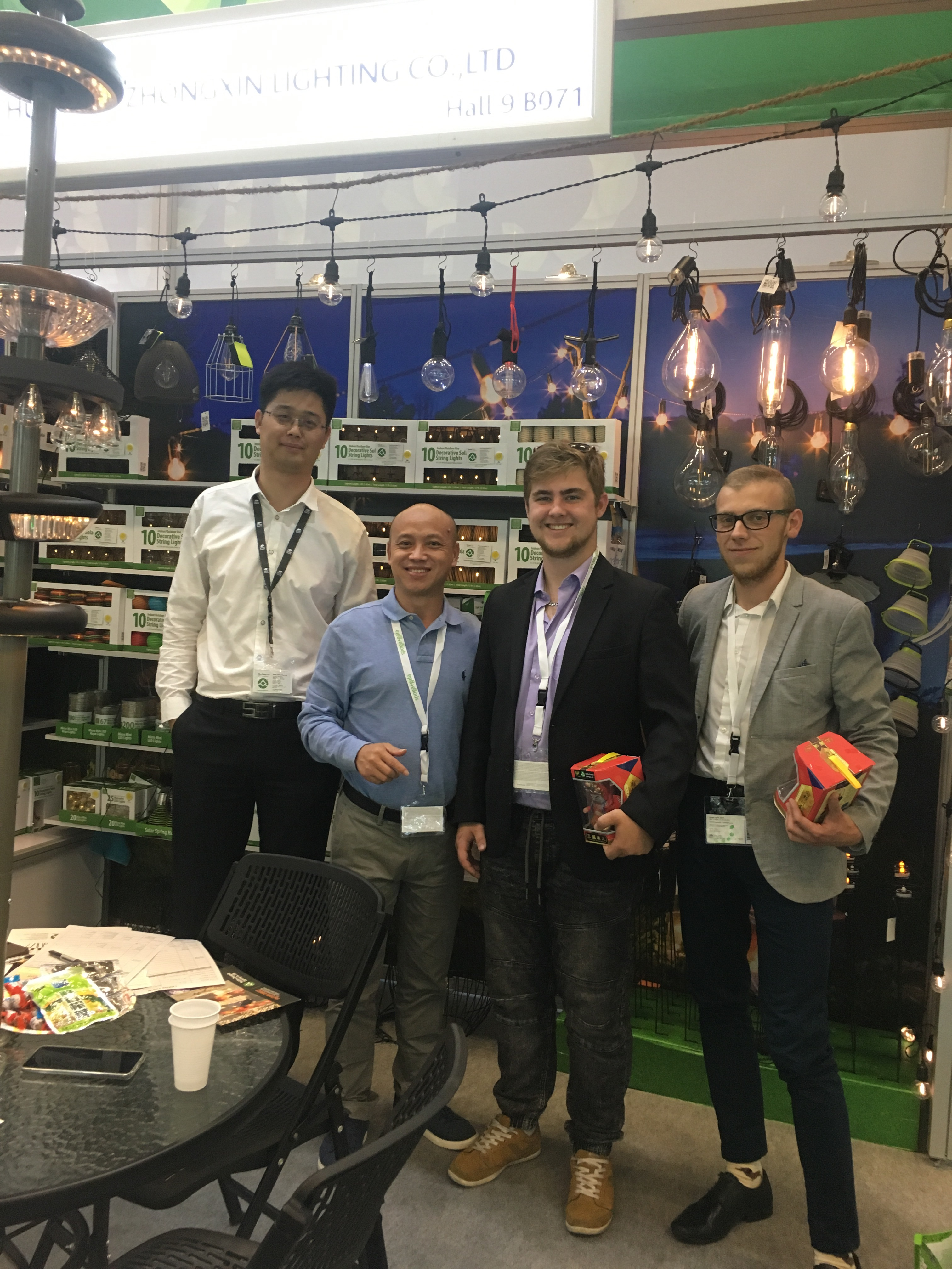 The world's most beautiful garden lantern show-2019 outdoor furniture and gardening exhibition in cologne, Germany