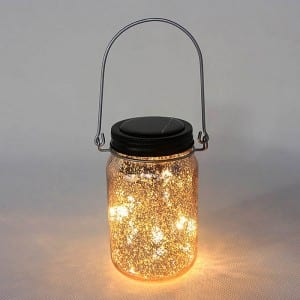 Galvanized Steel Roll Decorative String Lights -
