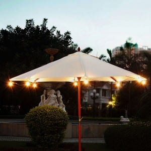 G50 Umbrella String Lights UL Listed Bulbs KF41008