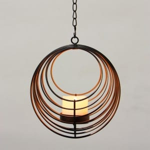 Hanging LED Tea Light Holder  MYHH05013