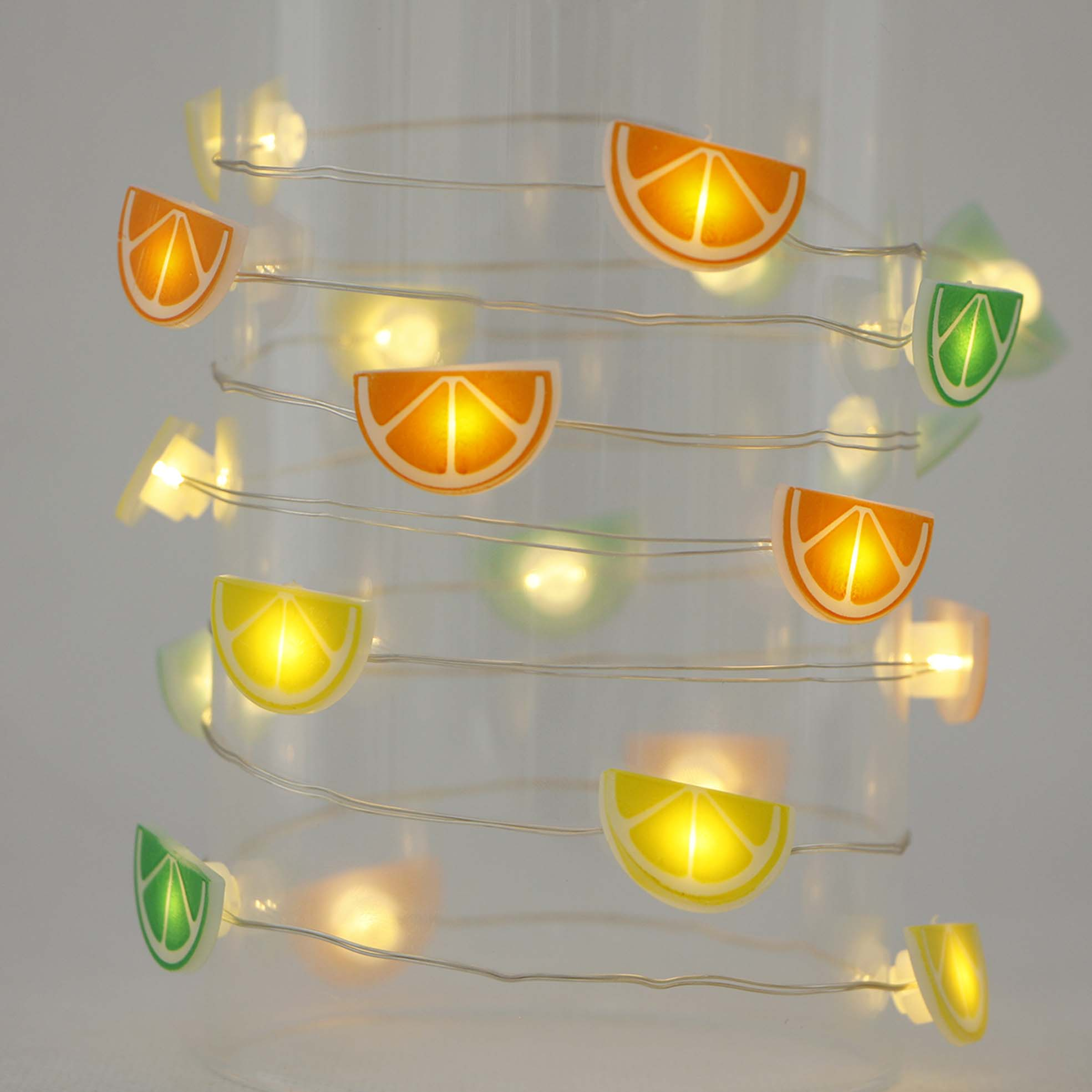 Color Coated Aluminum Sheet Decorative Patio String Light -