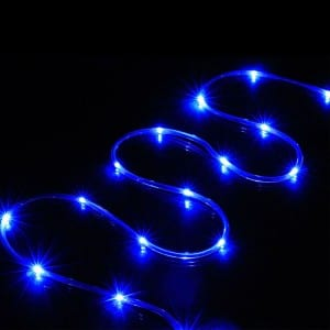 16.5FT Outdoor Rope Lights Christmas Tree Decor with Timer