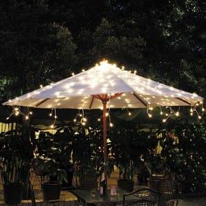 Solar Umbrella Lights Outdoor Decoration for Patio