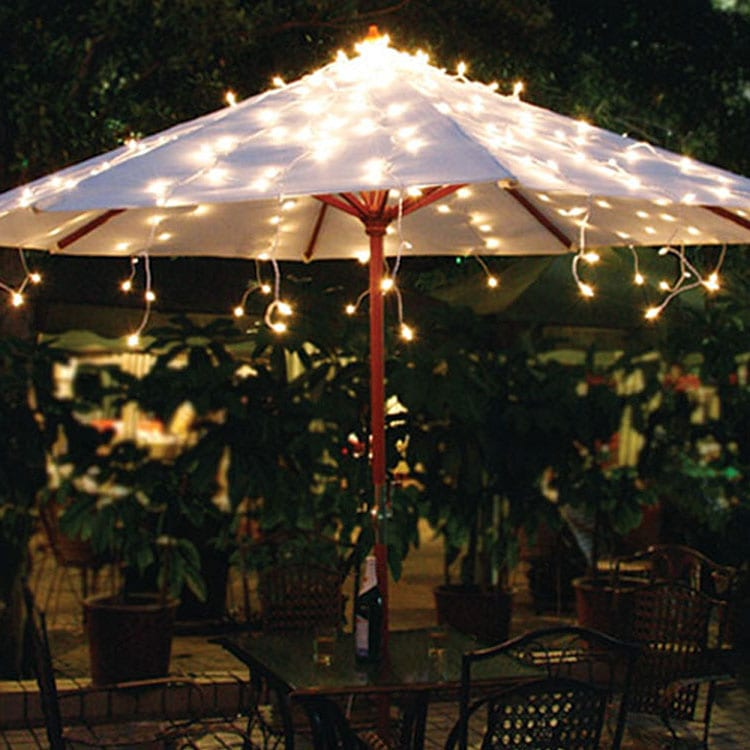 Corrugated Pre_Painted Steel Strip Party String Lights -