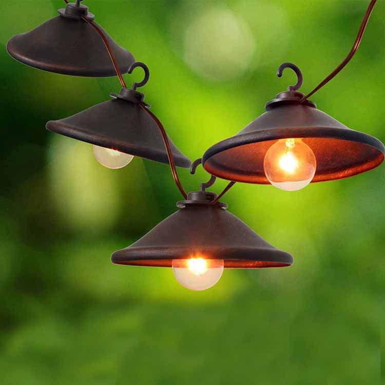 Gl Roofing Steel Holiday Bulbs -