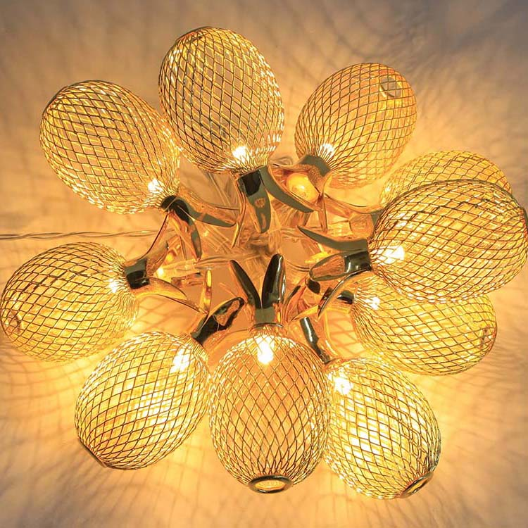 Corrugated Steel Sheet Pendant Lighting Kit -
