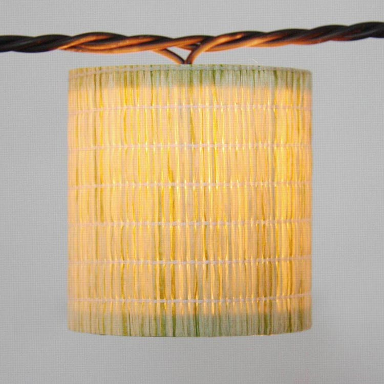 Prepainted Aluminum Plate Holiday Led String Light - Natural Material Covers  MYHH01488 – Zhongxin