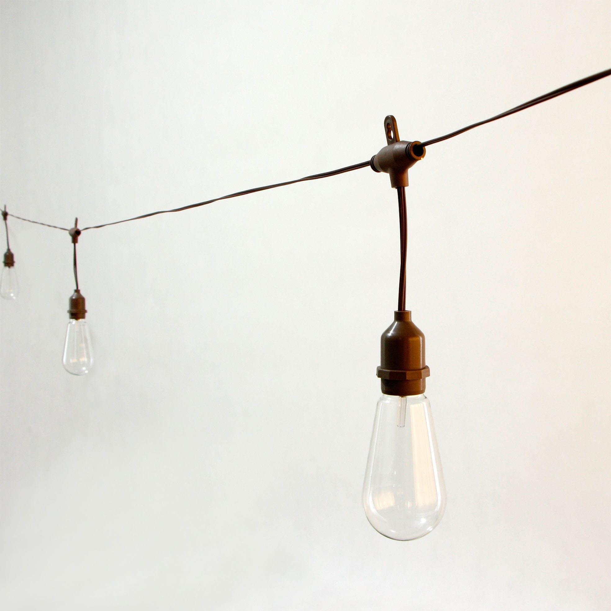 Matt Color Coated Steel Coil Edison String Lights - Decorative Umbrella Lights  MYHH09064-SO(C)  – Zhongxin