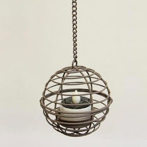 Hanging LED Tea Light Holder  MYHH67035