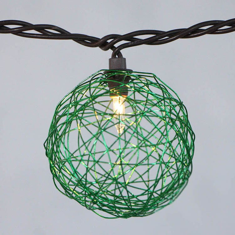 Roof Steel Festive Lights -