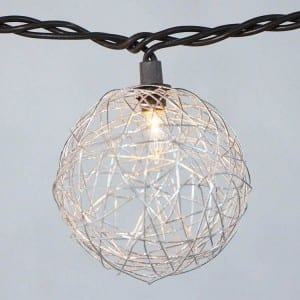 Roof Steel Festive Lights - Wire-Wire+beads Covers  MYHH01194 – Zhongxin