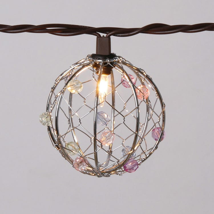 Aluminum Steel Sheet Christmas Decoration String Light -