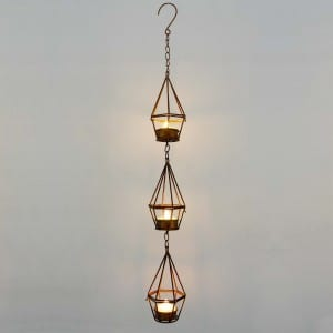 Hanging LED Tea Light Holder  MYHH05018
