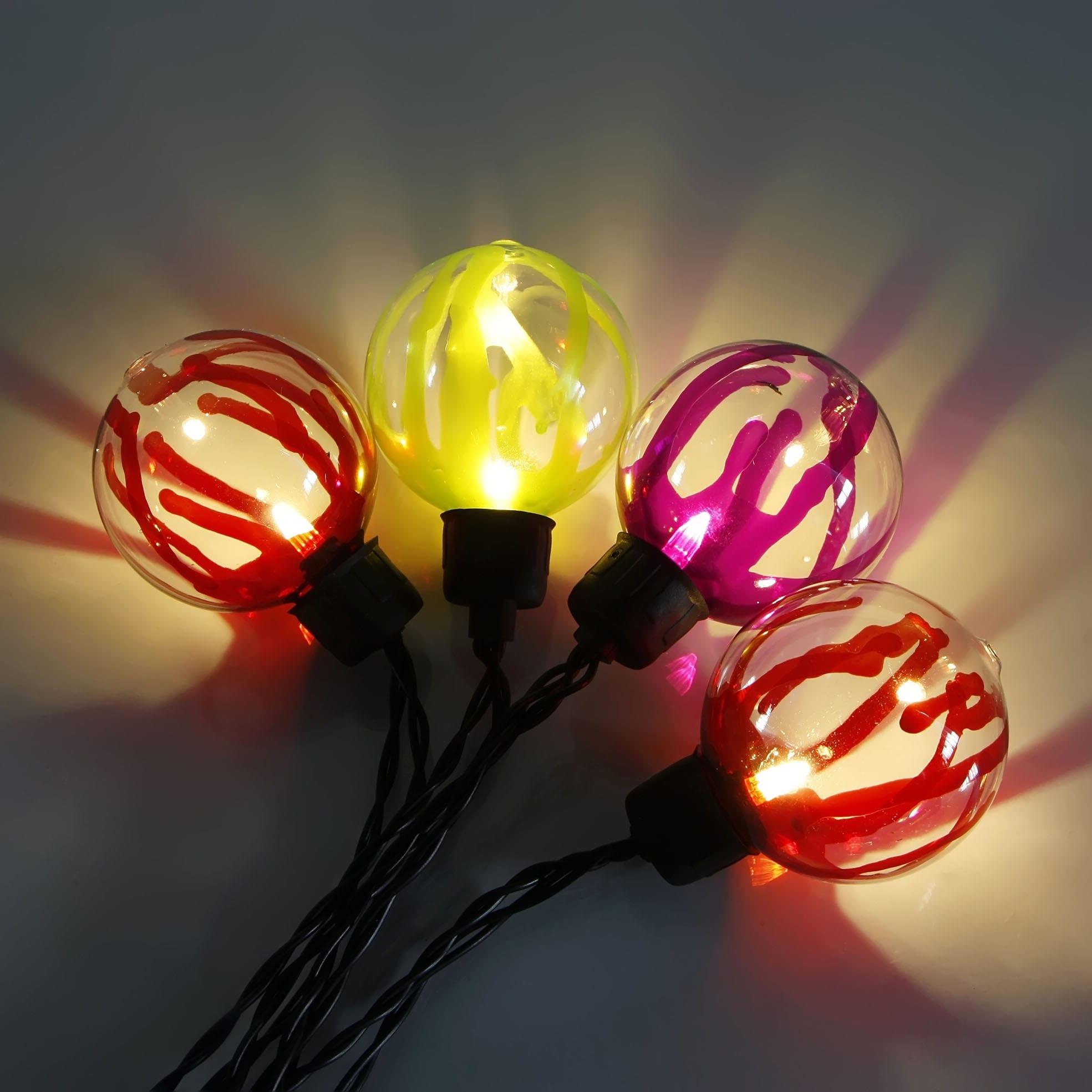 Gl Steel Cafe String Lights - Glass Covers  MYHH02024-BO(R)  – Zhongxin