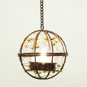 Hanging LED Tea Light Holder  MYHH130094