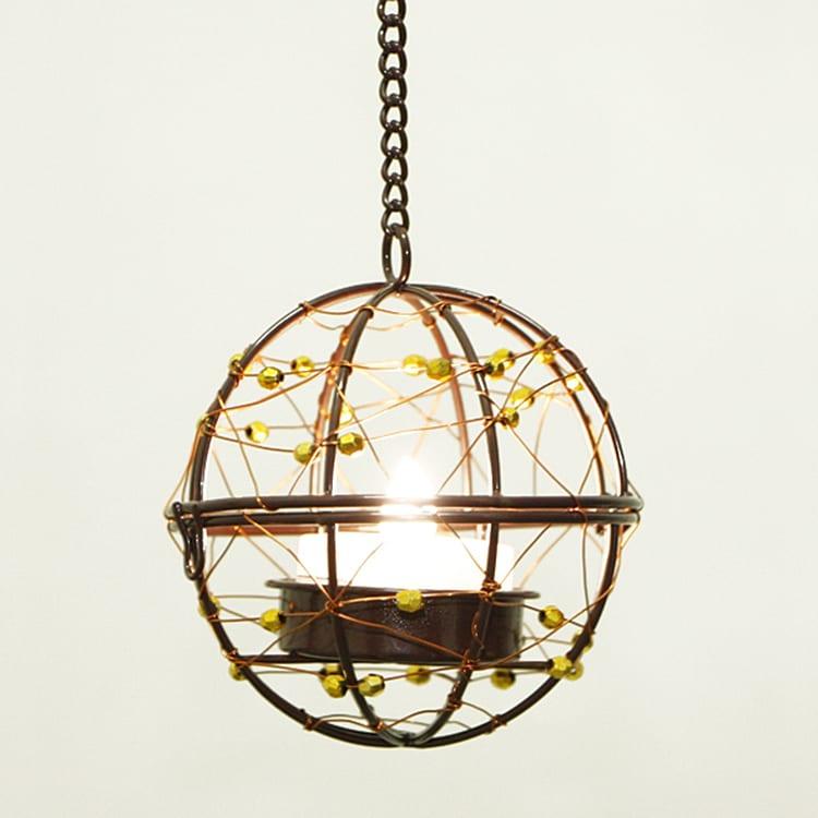 Hanging LED Tea Light Holder  MYHH130094 Featured Image