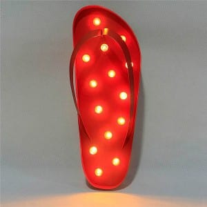 Lighted Novelty Decor  MYHH110043-Red