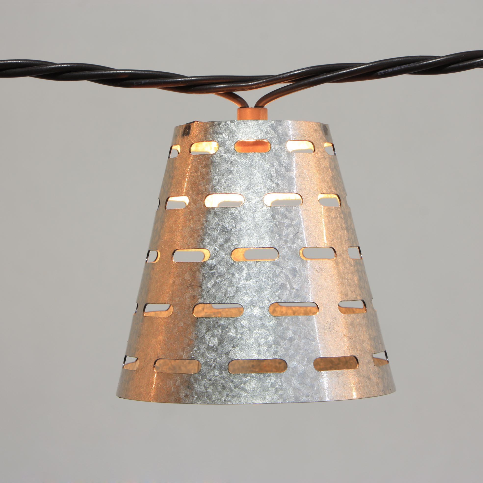 Corrugated Gi Steel Solar Garden Lights -  Metal Covers  MYHH02114 – Zhongxin