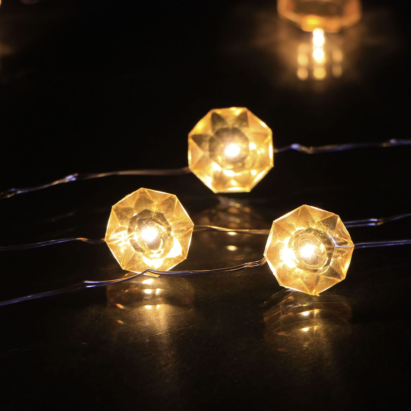 Corrugated Gi Wedding String Lights -