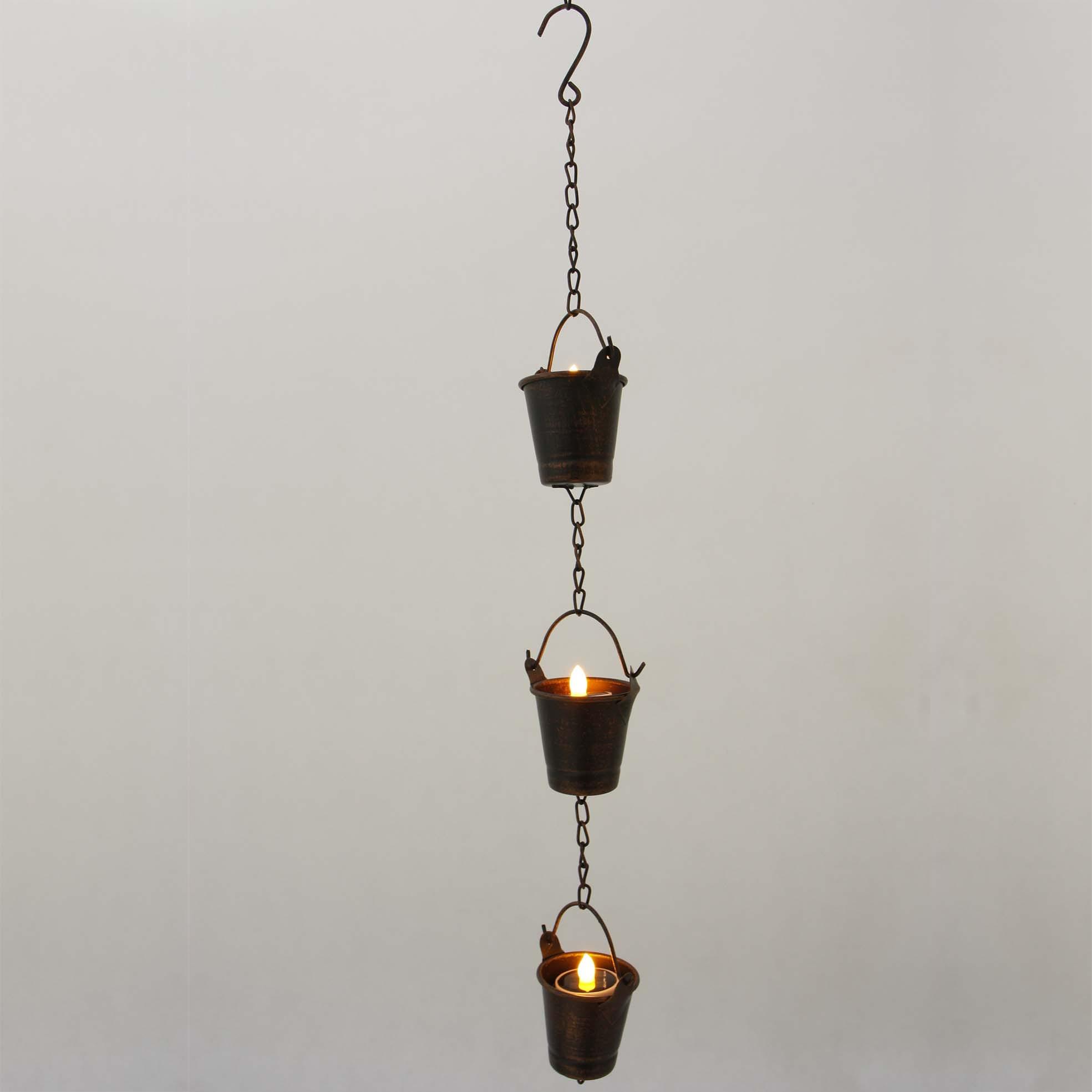 Hanging LED Tea Light Holder  MYHH05011 Featured Image