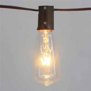 ST40 Bulb Light String Outdoor for Patio
