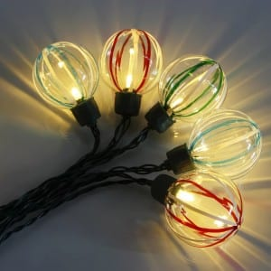 Cheap price Popular Clear Glass Bulb Christmas Tree Patio Decoration Rope Festoon Fairy Lighting  Copper Wire Led String Light