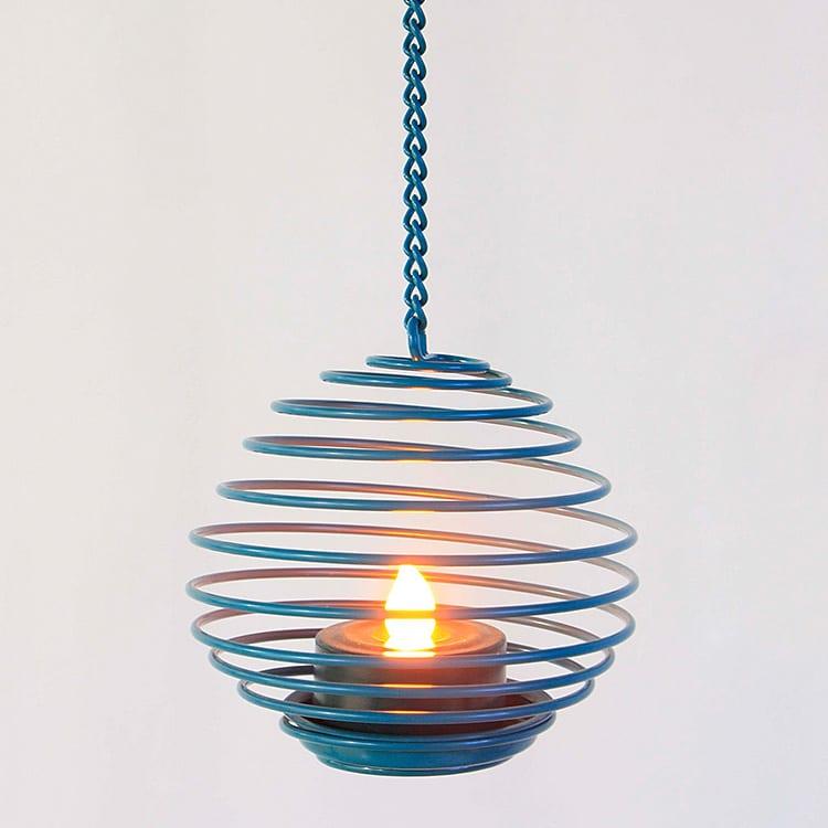Hanging LED Tea Light Holder  MYHH130111 Featured Image